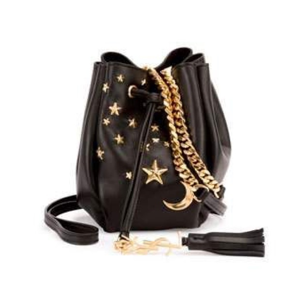 2df9bac3dd07d YSL small star studded bucket bag saint laurent. M 5b55329efe515108b0e98a5f
